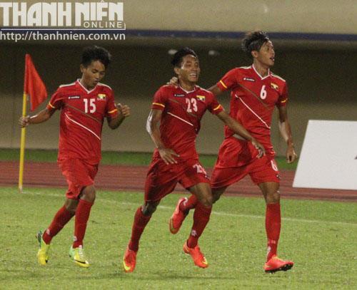 Thua đau U19 Myanmar, U19 Việt Nam vỡ mộng vô địch - Ảnh 1