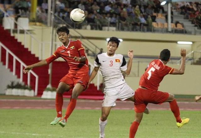 Clip: U19 Việt Nam gục ngã trước U19 Myanmar - Ảnh 1