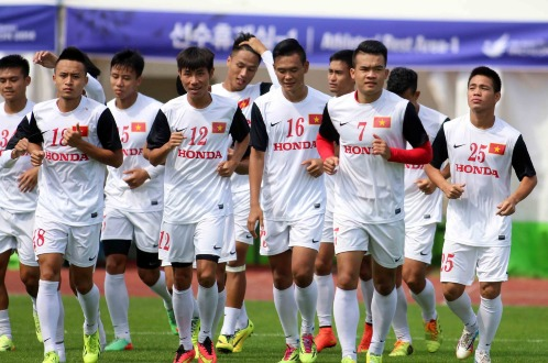 Olympic Việt Nam sẵn sàng cho trận mở màn gặp Iran - Ảnh 1