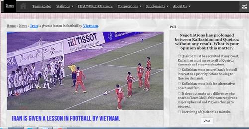 Báo chí Iran sốc vì đội nhà thảm bại trước Olympic Việt Nam - Ảnh 1