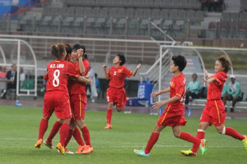 Bị dẫn bàn trước, tuyển nữ Việt Nam vẫn hạ gục Thái Lan - Ảnh 1