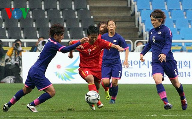 Lực bất tòng tâm, ĐT nữ Việt Nam thua đậm trước Nhật Bản - Ảnh 2