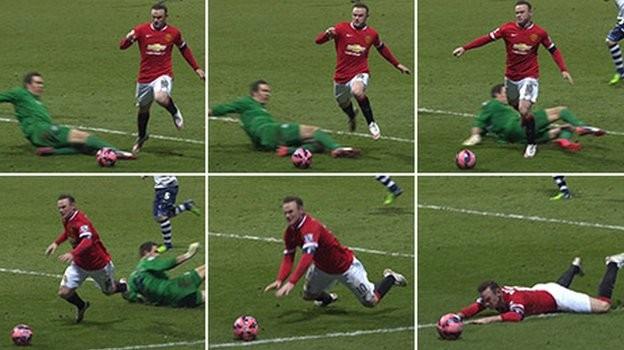 Rooney ngang nhiên thừa nhận ngã vờ kiếm 11m - Ảnh 1