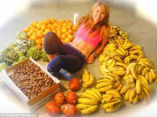 Cô gái ăn 51 quả chuối mỗi ngày để giảm cân - Ảnh 1