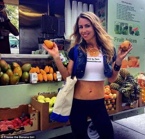Cô gái ăn 51 quả chuối mỗi ngày để giảm cân - Ảnh 4