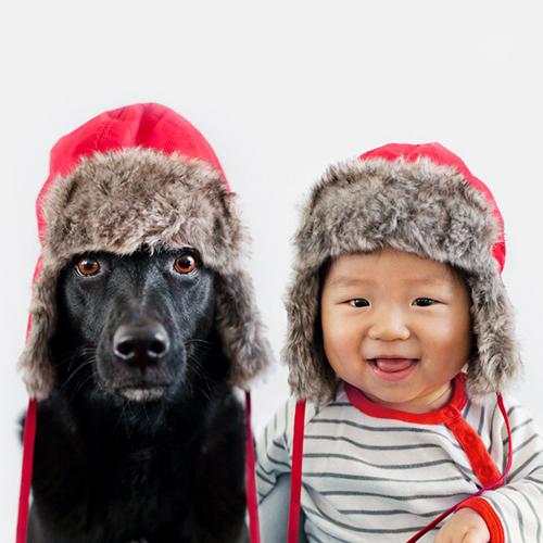 Xem bộ ảnh đáng yêu về em bé và chú chó cưng - Ảnh 8