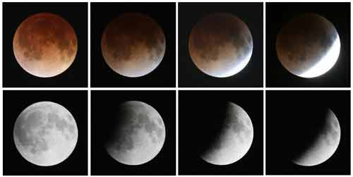 """Clip: Toàn cảnh hiện tượng """"Mặt trăng máu"""" hôm nay - Ảnh 6"""