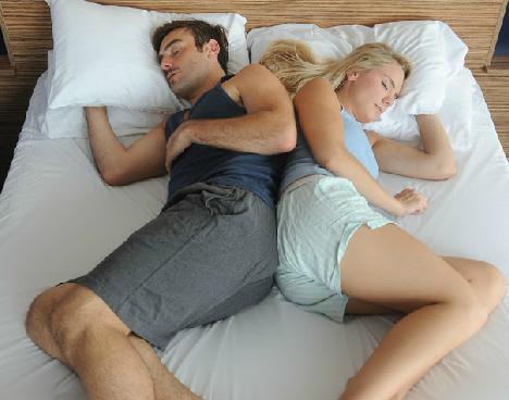 Tư thế ngủ tiết lộ độ hạnh phúc của các cặp đôi - Ảnh 3