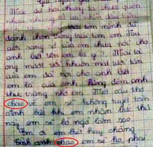 Hài hước những bức thư tình của trẻ tiểu học  - Ảnh 3