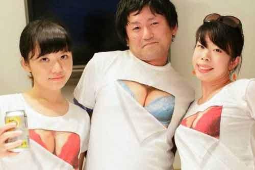 """Thu hút ánh nhìn với áo phông """"siêu vòng một"""" - Ảnh 5"""