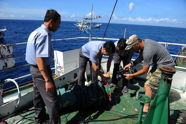 Phóng viên VTV với những hình ảnh chưa từng lên sóng ở Biển Đông - Ảnh 12