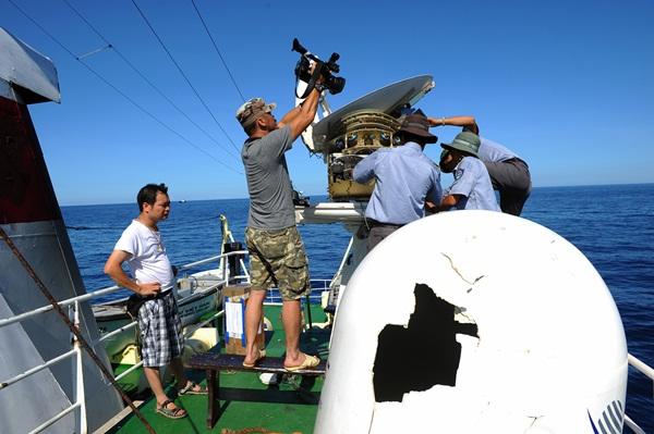 Phóng viên VTV với những hình ảnh chưa từng lên sóng ở Biển Đông - Ảnh 13