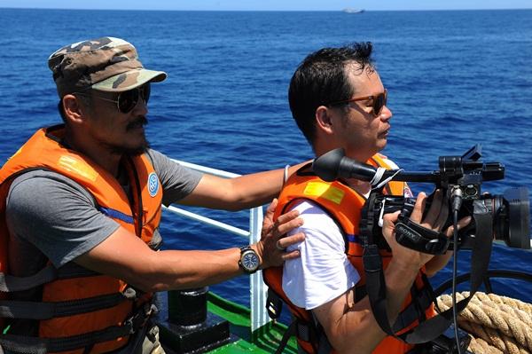 Phóng viên VTV với những hình ảnh chưa từng lên sóng ở Biển Đông - Ảnh 16