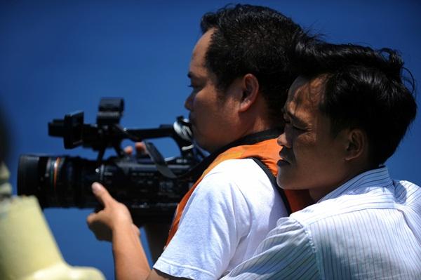 Phóng viên VTV với những hình ảnh chưa từng lên sóng ở Biển Đông - Ảnh 18