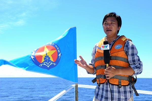 Phóng viên VTV với những hình ảnh chưa từng lên sóng ở Biển Đông - Ảnh 2