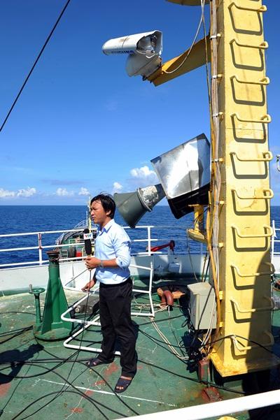 Phóng viên VTV với những hình ảnh chưa từng lên sóng ở Biển Đông - Ảnh 3