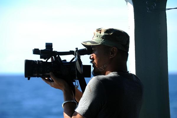 Phóng viên VTV với những hình ảnh chưa từng lên sóng ở Biển Đông - Ảnh 8