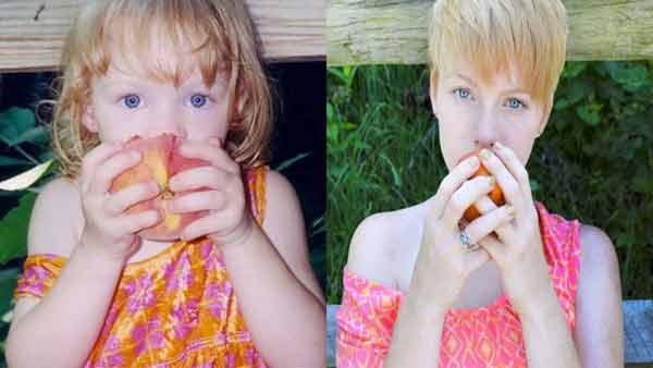 """Những tấm ảnh """"ngày ấy và bây giờ"""" siêu ngộ nghĩnh  - Ảnh 1"""