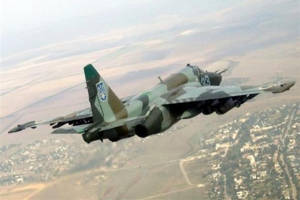 Thêm 2 máy bay Su-25 rơi ở miền đông Ukraina - Ảnh 1