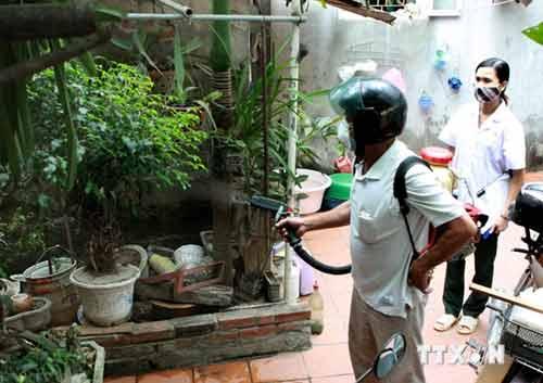 Ghi nhận 8 ổ dịch sốt xuất huyết ở Hà Nội - Ảnh 1