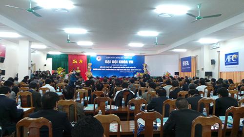 Clip: Ông Lê Hùng Dũng trúng cử chức Chủ tịch VFF - Ảnh 1