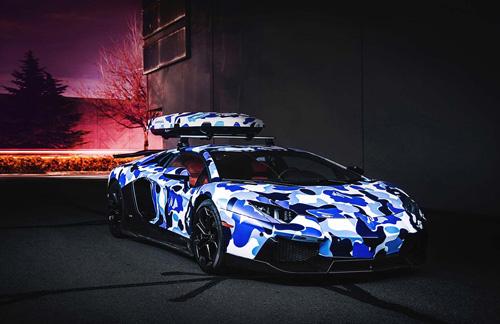 "Cận cảnh Lamborghini Aventardor ""tuyết"" cực hiếm - Ảnh 2"