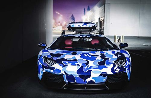 "Cận cảnh Lamborghini Aventardor ""tuyết"" cực hiếm - Ảnh 3"