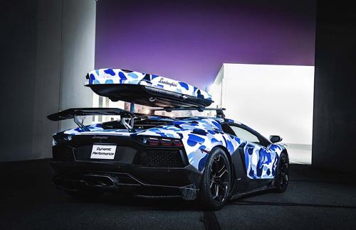 "Cận cảnh Lamborghini Aventardor ""tuyết"" cực hiếm - Ảnh 7"