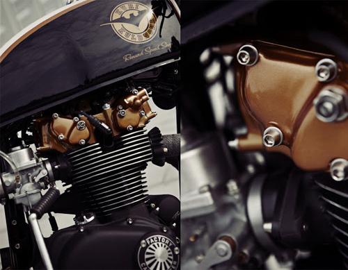 Honda CB500T Cafe Racer - Đẹp từng centimet - Ảnh 8