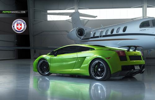 Bộ ảnh cực độc Lamborghini Gallardo khoe dáng cùng phi cơ - Ảnh 7