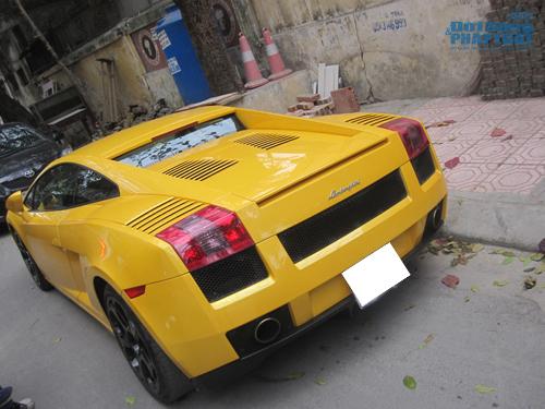 Bò vàng Lamborghini Gallardo tái xuất trên phố Hà Nội - Ảnh 3