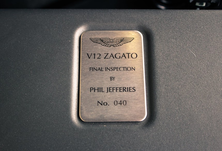 Nội thất sang chảnh của Aston Martin V12 Zagato - Ảnh 6