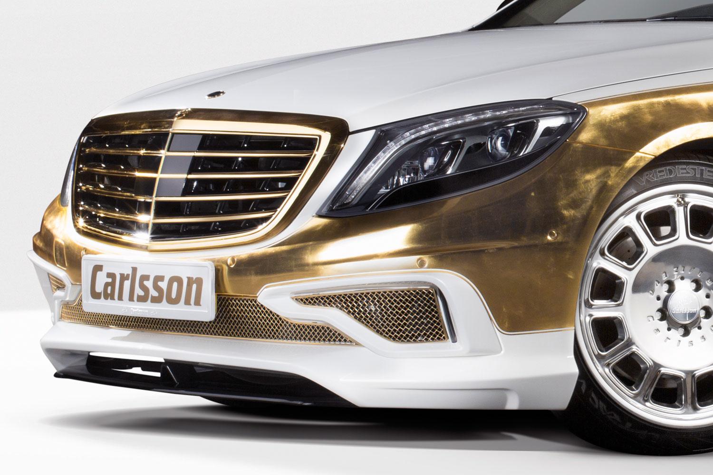 """Bản độ 1000 miếng vàng lá """"dát"""" lên Mercedes-Benz S-Class - Ảnh 3"""
