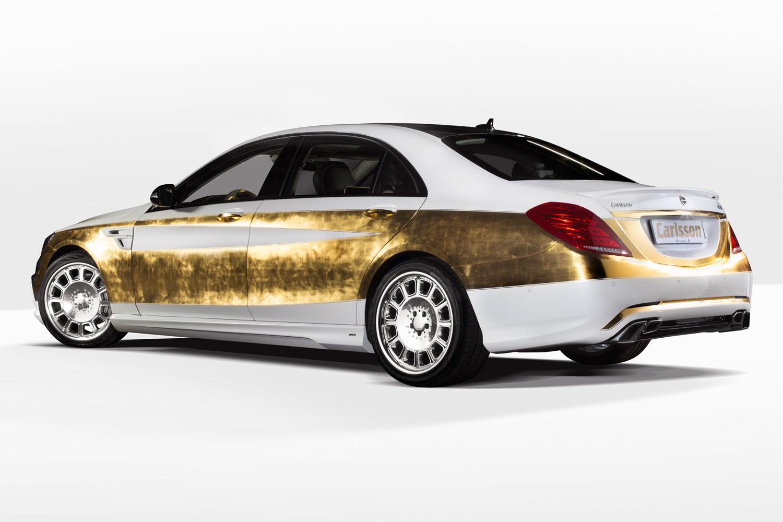 """Bản độ 1000 miếng vàng lá """"dát"""" lên Mercedes-Benz S-Class - Ảnh 4"""