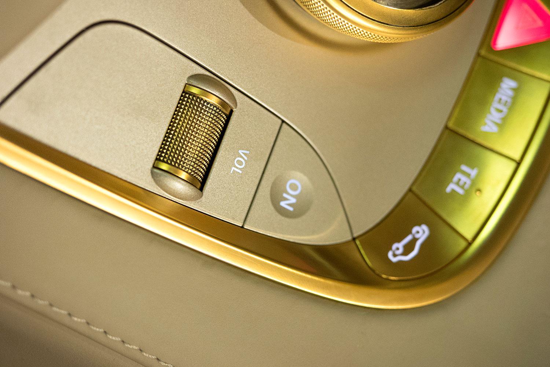 """Bản độ 1000 miếng vàng lá """"dát"""" lên Mercedes-Benz S-Class - Ảnh 5"""