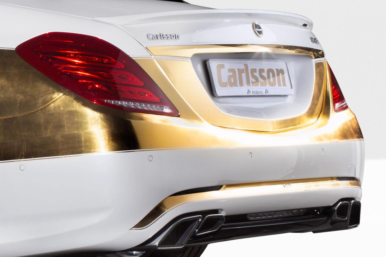 """Bản độ 1000 miếng vàng lá """"dát"""" lên Mercedes-Benz S-Class - Ảnh 11"""