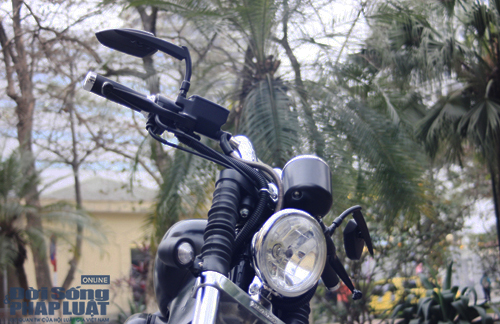 Honda Shadow độ Bobber cực ngầu của dân chơi Hà thành - Ảnh 6