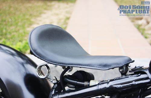 Honda Shadow độ Bobber cực ngầu của dân chơi Hà thành - Ảnh 11