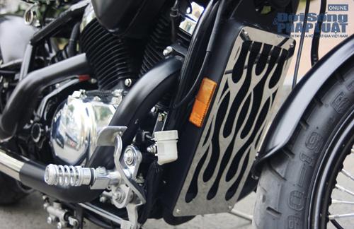 Honda Shadow độ Bobber cực ngầu của dân chơi Hà thành - Ảnh 14