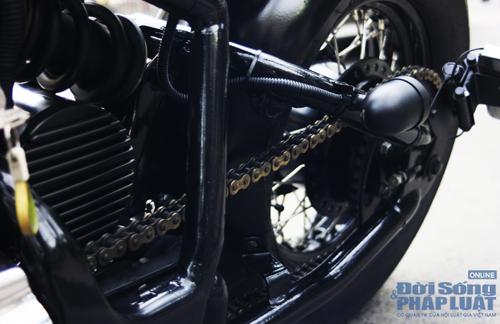 Honda Shadow độ Bobber cực ngầu của dân chơi Hà thành - Ảnh 15