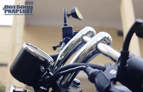 Honda Shadow độ Bobber cực ngầu của dân chơi Hà thành - Ảnh 16