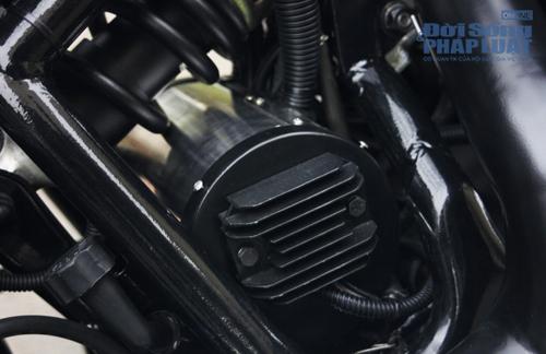 Honda Shadow độ Bobber cực ngầu của dân chơi Hà thành - Ảnh 18