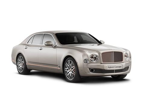 Bentley Mulsanne Hybrid Concept - Xe lai đắt giá nhất thế giới - Ảnh 1
