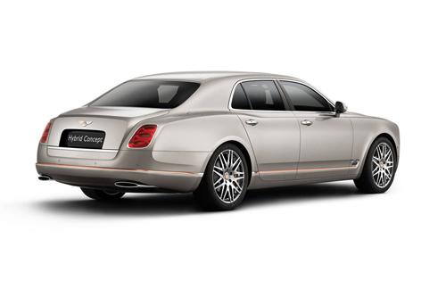 Bentley Mulsanne Hybrid Concept - Xe lai đắt giá nhất thế giới - Ảnh 2