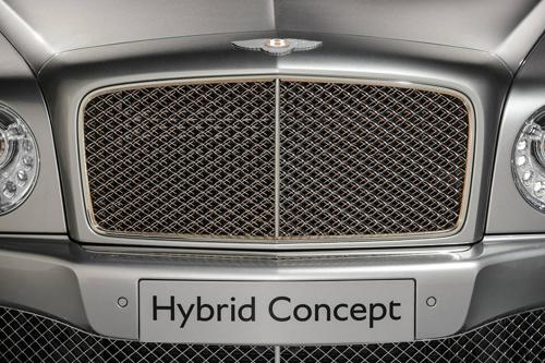 Bentley Mulsanne Hybrid Concept - Xe lai đắt giá nhất thế giới - Ảnh 6