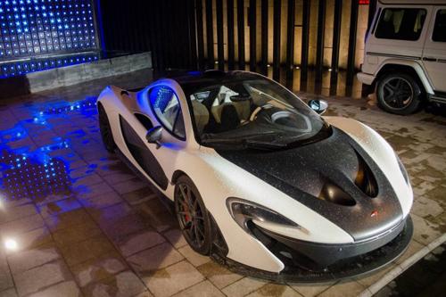 Ngắm siêu xe McLaren P1 của gia đình hoàng tộc Qatar - Ảnh 1