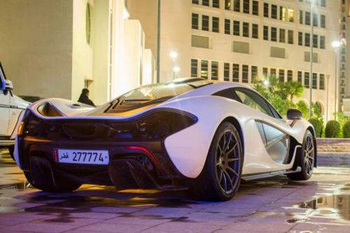Ngắm siêu xe McLaren P1 của gia đình hoàng tộc Qatar - Ảnh 2