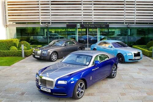 Hãng xe Rolls-Royce bước sang tuổi thứ 110 - Ảnh 4