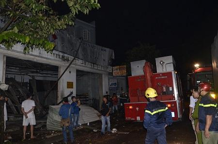Chùm ảnh toàn cảnh vụ nổ lớn kinh hoàng ở TP.HCM - Ảnh 6