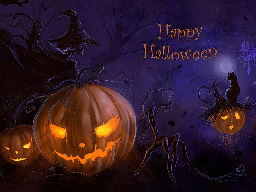 Halloween với những trái bí ngô kỳ bí, huyền ảo - Ảnh 6